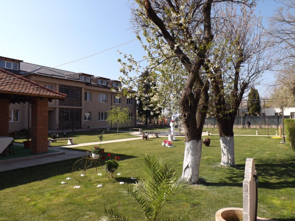 Casa Dobrescu Craiova - curte interioara