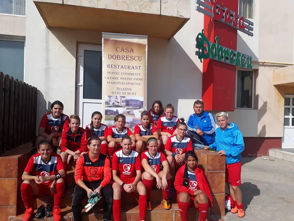 Fotbaliste cazate la Casa Dobrescu Isalnita